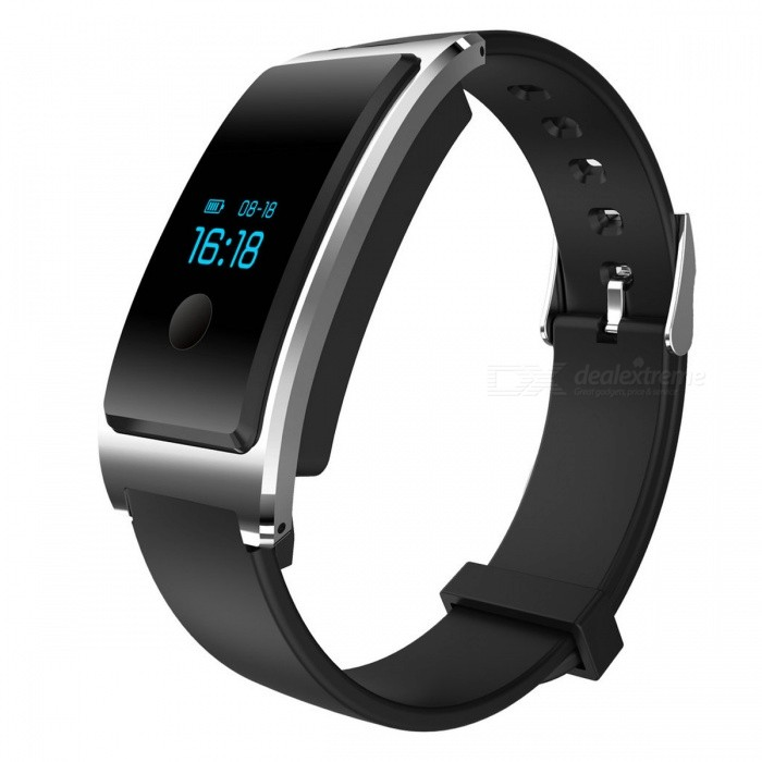 POTINO Smart Bracelet w/ Heart Rate Monitor, Pedometer - SilverColorSilverModelnRF51822Quantity1 setShade Of ColorSilverCasing MaterialAcrylicWristband MaterialSilica gelSuitable forAdultsGenderUnisexStyleWrist WatchTypeFashion watchesDisplayDigitalMovementDigitalDisplay Format12 hour formatWater ResistantWater Resistant 5 ATM or 50 m. Suitable for swimming, white water rafting, non-snorkeling water related work, and fishing.Dial Diameter2 cmDial Thickness1 cmWristband Length25.6 cmBattery80mAhCertificationCE, FCC, ROHSPacking List1 x Smart bracelet1 x Chinese / English user manual<br>