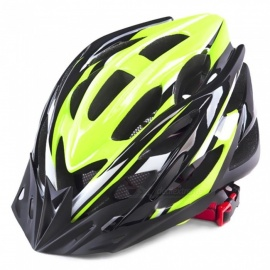 CTSmart Multi-Purpose Outdoor Riding One-Piece Safety Helmet - Green