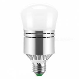 P-TOP LED Dusk To Dawn Sensor Light Bulb, 12W 1200LM Socket Automatic Light Bulb with Photo Sensor - Warm White Light