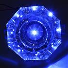 3W Blue LED Crystal Ceiling Lamp/Down Light with LED Driver (160Lm/95~265V)
