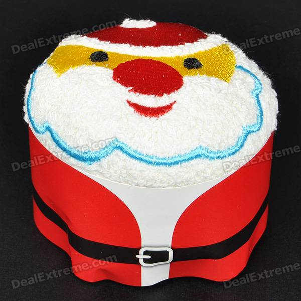 Creative Santa Claus Style Towel Christmas Ornament - Multi Color