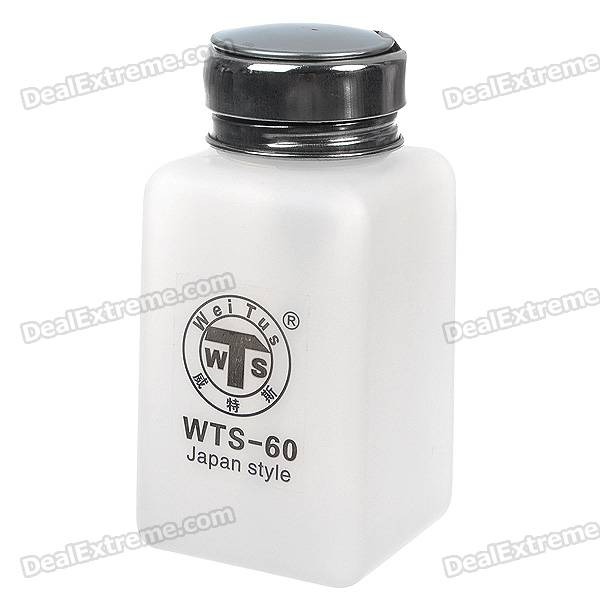 Alcohol and Liquid Container Bottle - White (180ml)