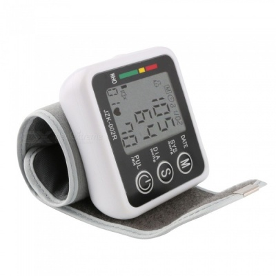 RZ203 Portable Wrist Style Blood Pressure Monitor with LCD Backlight