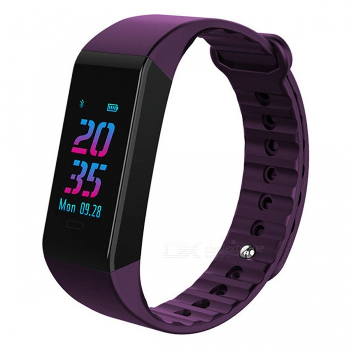 W6S Color Screen Intelligent Bluetooth Bracelet w/ Heart Rate, Blood Pressure, Sleep Monitoring - PurpleSmart Bracelets<br>ColorPurpleModelW6SQuantity1 DX.PCM.Model.AttributeModel.UnitMaterialTPUWater-proofIP67Bluetooth VersionBluetooth V4.0Touch Screen TypeTFTOperating SystemAndroid 4.4,iOSCompatible OSAndroid IOSBattery Capacity90 DX.PCM.Model.AttributeModel.UnitBattery TypeLi-polymer batteryStandby Time25 DX.PCM.Model.AttributeModel.UnitPacking List1 x User usage manual1 x Bluetooth bracelet1 x Packing box<br>