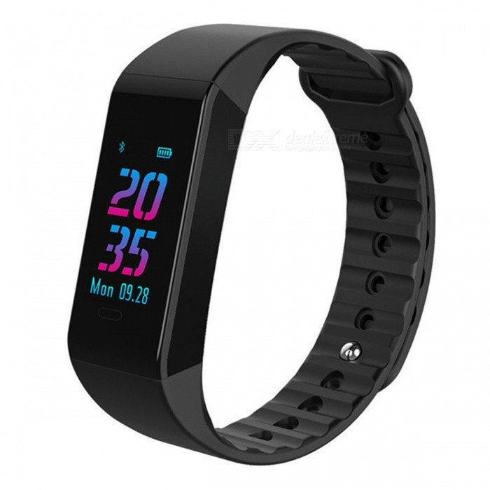 W6S Color Screen Intelligent Bluetooth Bracelet w/ Heart Rate, Blood Pressure, Sleep Monitoring - BlackSmart Bracelets<br>ColorBlackModelW6SQuantity1 DX.PCM.Model.AttributeModel.UnitMaterialTPUWater-proofIP67Bluetooth VersionBluetooth V4.0Touch Screen TypeTFTOperating SystemAndroid 4.4,iOSCompatible OSAndroid IOSBattery Capacity90 DX.PCM.Model.AttributeModel.UnitBattery TypeLi-polymer batteryStandby Time25 DX.PCM.Model.AttributeModel.UnitPacking List1 x User usage manual1 x Bluetooth bracelet1 x Packing box<br>