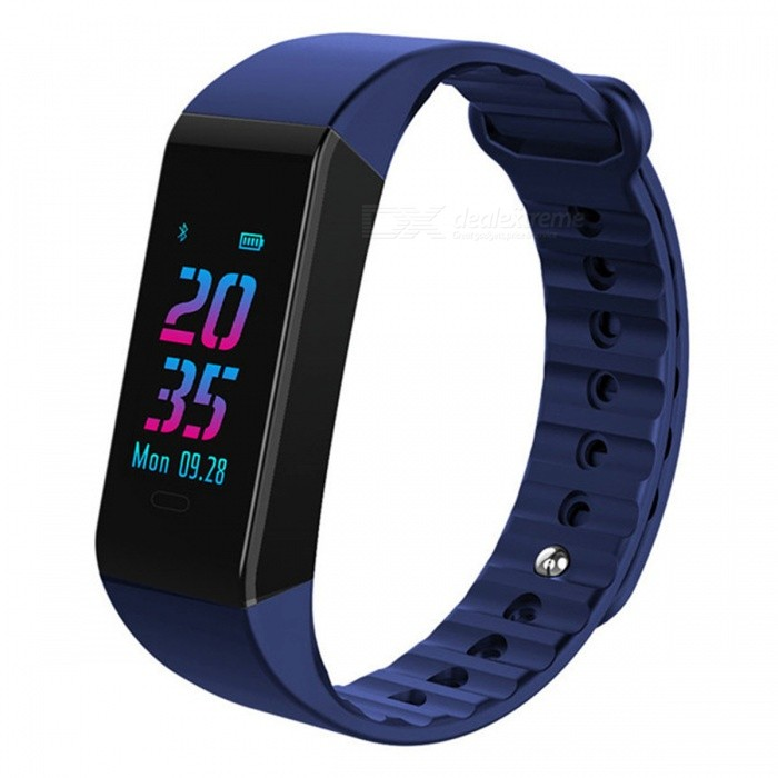 W6S Color Screen Intelligent Bluetooth Bracelet w/ Heart Rate, Blood Pressure, Sleep Monitoring - BlueSmart Bracelets<br>ColorBlueModelW6SQuantity1 pieceMaterialTPUWater-proofIP67Bluetooth VersionBluetooth V4.0Touch Screen TypeTFTOperating SystemAndroid 4.4,iOSCompatible OSAndroid IOSBattery Capacity90 mAhBattery TypeLi-polymer batteryStandby Time25 daysPacking List1 x User usage manual1 x Bluetooth bracelet1 x Packing box<br>