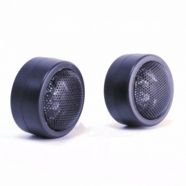 Car Tweeter Super Power Loud Speaker Stereo 25mm Diameter Dome Small Auto Car Audio Component Speakers Black