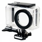 Waterproof Underwater Housing Shell Case with MCUV & CPL Protective Lens Cover for Xiaomi MiJia Sports Camera