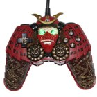 USB Samurai Dual Shock Scary Gamepad (with 12-button and 2 analog sticks)