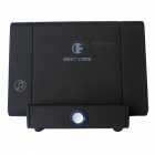 Portable wireless sensor induction speaker w/ mobile phone holder function - black