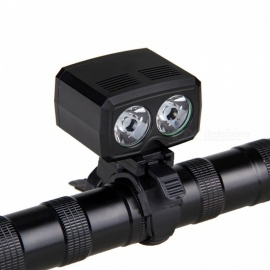 AIBBER TONE Rechargeable USB Cycling Light 2 x XM-L T6 LED Front Bike Headlamp 5 Modes Torch Bicycle Accessories