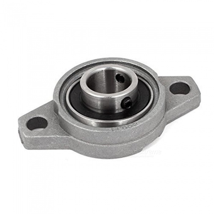RXDZ KFL002 FL002 Self Aligning Pillow Block Flange Bearing w/ 15mm Shaft (2 PCS)DIY Parts &amp; Components<br>ColorGreyModelFL002Quantity2 piecesMaterialZinc alloyEnglish Manual / SpecNoCertificationNOPacking List2 x Pillow Block Bearings<br>