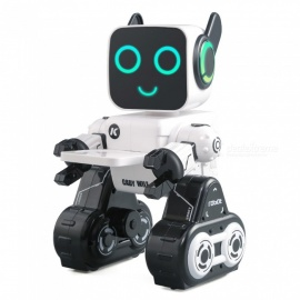 JJRC R4 Cady Wile 2.4G Gesture Sensor Control Sound Interaction Money Management RC Robot - White