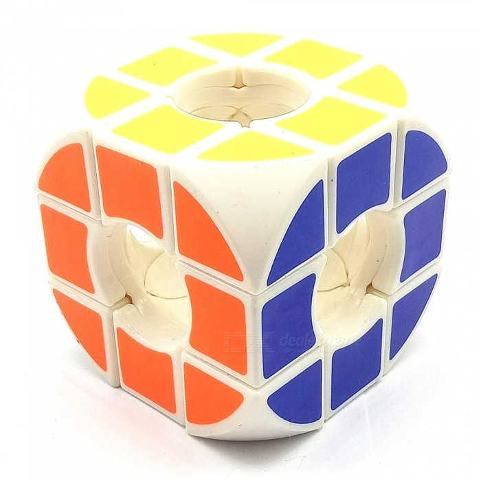 Creative Special Shaped Cavity Rounded Leisure Rubiks CubeMagic IQ Cubes<br>ColorMulticolorMaterialPlasticQuantity1 DX.PCM.Model.AttributeModel.UnitType3x3x3Suitable Age 3-4 years,5-7 years,8-11 yearsPacking List1 x Rubiks Cube<br>