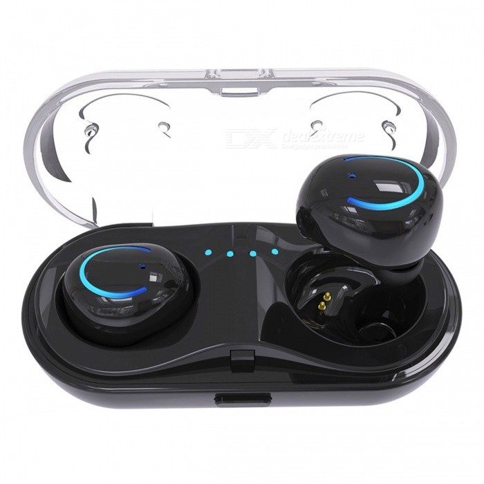 JEDX Q18 Wireless Bluetooth Earphones Sports Mini In-Ear EarphonesHeadphones<br>ColorblackBrandOthers,JEDXModelQ18MaterialABSQuantity1 setConnectionBluetoothBluetooth VersionBluetooth V4.2Operating Range12mLeft &amp; Right Cables TypeEqual LengthHeadphone StyleUnilateralWaterproof LevelIPX0 (Not Protected)Applicable ProductsUniversalHeadphone FeaturesInvisible Style,For Sports &amp; ExerciseSupport Memory CardNoSupport Apt-XNoOther FeaturesFeatures:<br><br>1. 3 d ShengYang: using CRS audio processing, through the tuners professional, sound clear and bright, HIFI stereo field, capture the details of music, song, listening with NICE18B out new feeling.<br><br>Take the headset into the rechargeable cabin. It will take only 40 minutes to recharge and solve the problem of the headset without electricity, simple and portable, and enjoy the music every moment.<br><br>3. Memory sponge ear plugs: gentle and slow, effective absorption of the impact of running, reduce vibration, low recoil release. It is aviation level cache finance. Very suitable for sports headphones. It increases the quality of sound. Protect the ear canal. It doesnt hurt to wear it long.<br><br>4. Clear communication: HIFI stereo sound, CVS professional noise reduction.<br><br>5. Smart compatibility: compatible with 99 percent of the bluetooth devices on the market, and compatible with all kinds of devices with no bluetooth capabilities.Packing List1 * Bluetooth Wireless Earbuds (Pair)1 * Charging Box<br>