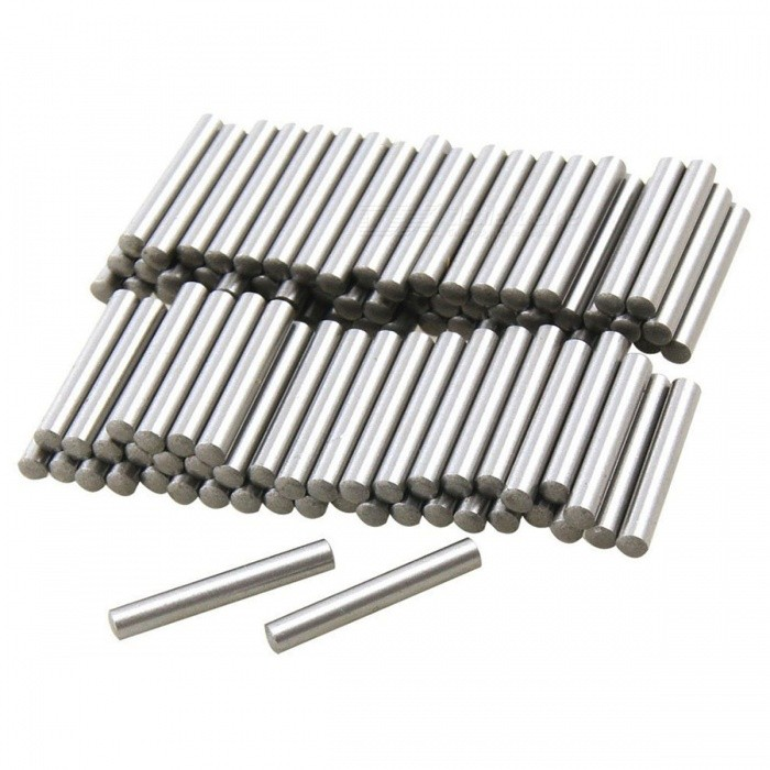 RXDZ Stainless Steel 2.9mm x 15.8mm Dowel Pins Fasten Elements - 100PCSDIY Parts &amp; Components<br>ColorSilverQuantity100 DX.PCM.Model.AttributeModel.UnitMaterialStainless steelEnglish Manual / SpecNoCertificationNOPacking List100 x Dowel Pins<br>