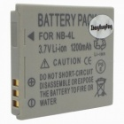 Canon NB-4L Compatible 3.7V 900mAh 3.3Wh Battery Pack for Canon Digital 50/40 + More
