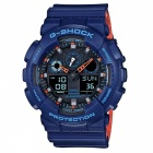 orologio digitale analogico casio g-shock GA-100L-2A-blu