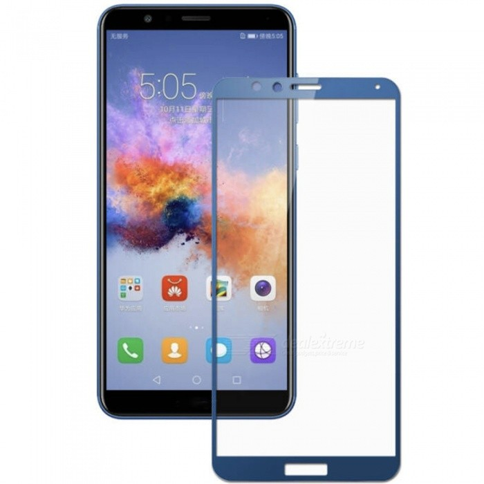 ASLING Tempered Glass 0.26mm Arc Edge 9H Full Cover Explosion-proof Screen Protector for Huawei Honor 7X