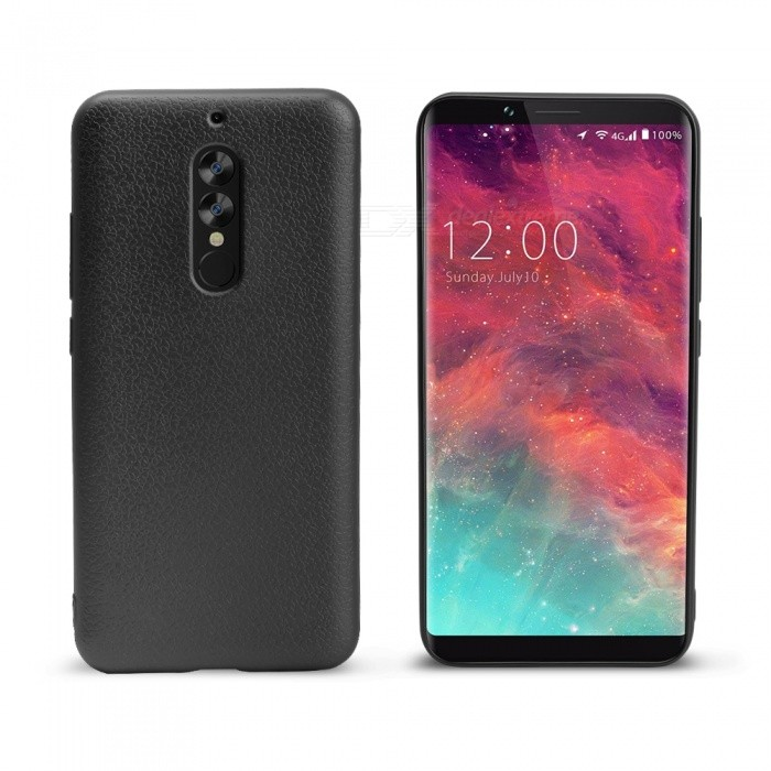 OCUBE Soft Silicone Case for UMIDIGI S2/S2 Pro Metallic Color Coated Premium Scratch Resistant ShockProof Case CoverTPU Cases<br>ColorBlackModelS2MaterialTPUQuantity1 setShade Of ColorBlackCompatible ModelsUMIDIGI S2 /S2proPacking List1 x Case<br>