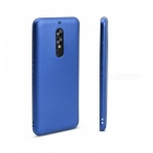 OCUBE Soft Silicone Case for UMIDIGI S2/S2 Pro Metallic Color Coated Premium Scratch Resistant ShockProof Case Cover - Blue