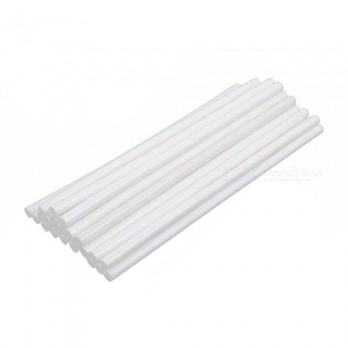RXDZ 11mm x 300mm Hot Melt Glue Adhesive Stick Oyster White for Electric Tool Heating Gun - 25PCSDIY Parts &amp; Components<br>ColorWhiteQuantity25 DX.PCM.Model.AttributeModel.UnitMaterialEVAEnglish Manual / SpecNoCertificationNOPacking List25 x Hot melt glue sticks<br>
