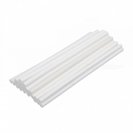 RXDZ 11mm x 300mm Hot Melt Glue Adhesive Stick Oyster White for Electric Tool Heating Gun - 25PCS