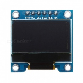 Produino 0.96 inch 128 x 64 Blue OLED Display Module SPI Interface 6 Pin for Arduino