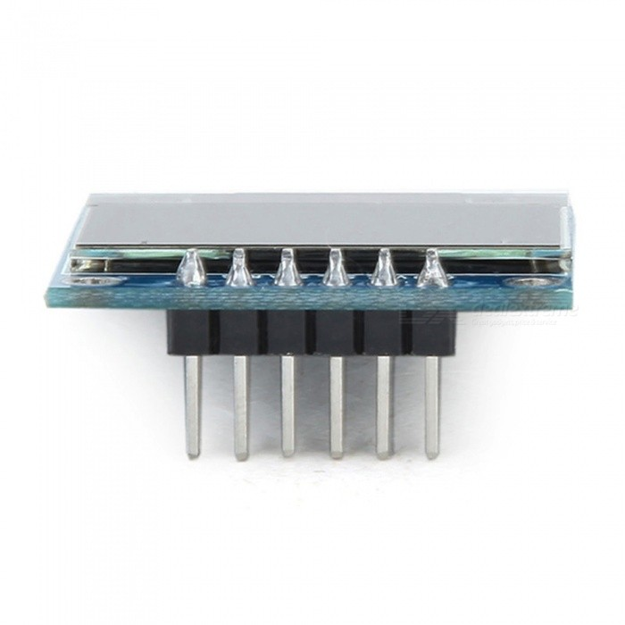 Produino inch white oled display module spi