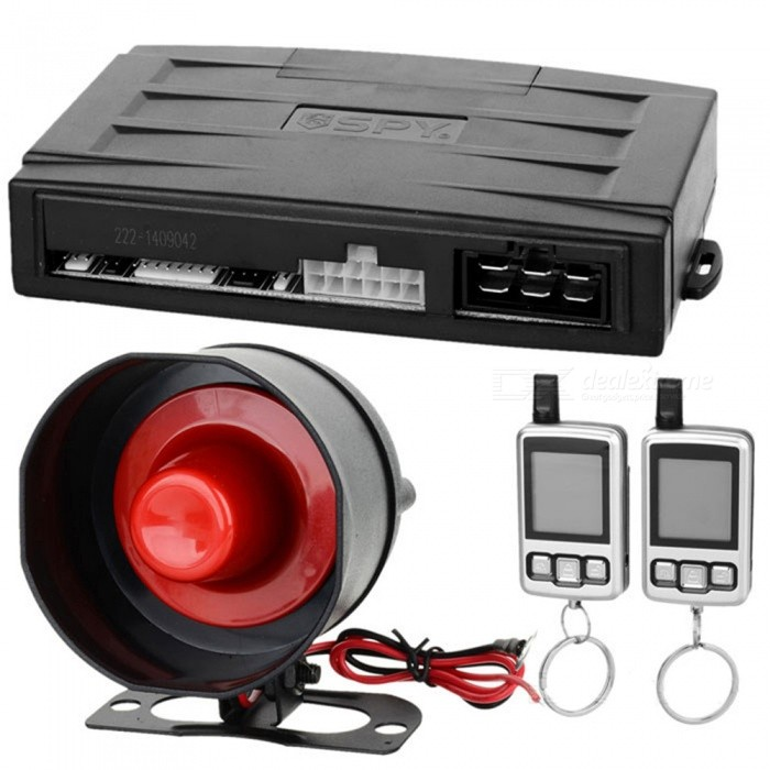 3000m Super Long Range Two-Way Car Security Alarm System - BlackCar Alarm Systems<br>Form  Color3000MModel500Quantity1 DX.PCM.Model.AttributeModel.UnitMaterialABSTransmit Frequency315~316 / 433.92 DX.PCM.Model.AttributeModel.UnitTransmit Current3 DX.PCM.Model.AttributeModel.UnitSpeaker Power15 DX.PCM.Model.AttributeModel.UnitAlarm Volume80~120 DX.PCM.Model.AttributeModel.UnitWorking Voltage   DC 3 DX.PCM.Model.AttributeModel.UnitRemote Control Range3000 DX.PCM.Model.AttributeModel.UnitPacking List1 x Car alarm system1 x Antenna2 x Two-way remote controllers1 x Alarm horn 1 x LED Indicator1 x Shock Sensor1 x 6-pin power cable1 x Cable for relay1 x Relay2 x AAA batteries<br>