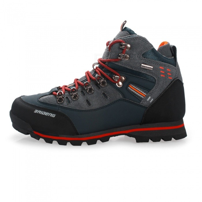 Ctsmart 8037 Outdoor Sports Mens Hiking Shoes - Black (Size 46)Hiking Shoes<br>ColorBlackSize46Model8037Quantity1 DX.PCM.Model.AttributeModel.UnitMaterialHigh-quality leather + suede leatherShade Of ColorBlackGenderMensFoot Length250 DX.PCM.Model.AttributeModel.UnitFoot Girth10-15 DX.PCM.Model.AttributeModel.UnitLiningSuedeMidsoleRubber midsoleOutsoleGenuine LeatherBest UseClimbing,Backpacking,Camping,Mountaineering,TravelSuitable forAdultsPacking List1 x Shoes<br>