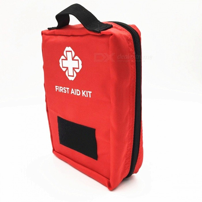 Outdoor Multi-function Travel Emergency Sports Medicine Bag Travel First Aid Kit - RedFirst Aid<br>ColorRedQuantity1 DX.PCM.Model.AttributeModel.UnitMaterialNylonBest UseMultisport,Running,Climbing,Rock Climbing,Family &amp; car camping,Backpacking,Camping,Mountaineering,Travel,CyclingPacking List1 x First aid kit<br>
