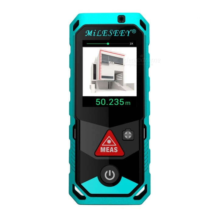Mileseey P7 150m 2.0 LCD Handheld Laser Distance RangefinderLaser Rangefinder, Electronic Distance Meter<br>Form  ColorBlack + BlueForm  ColorBlack + BlueModelP7Quantity1 DX.PCM.Model.AttributeModel.UnitMaterialABS + TPEDetection Range0.2-150mMeasuring Accuracy±2mmLaser Level630-670nm1mWMax.Storage100Display2.0 LCDPowered ByOthers,3?AAA battery powered(NI-MH rechargeable battery)Battery included or notYesEnglish Manual / SpecYesPacking List1 x Laser rangefinder 3 x AAA batteries 1 x User manual<br>