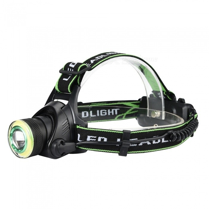 SPO T6 Super Bright Rotating Focus LED Headlamp for Outdoor Fishing Hunting, EtcHeadlamps<br>ColorBlack + GreenModelG6Quantity1 setMaterialAluminum alloy+clothEmitter BrandCreeLED TypeXM-LEmitter BINT6Color BINWhiteNumber of Emitters1Working Voltage   3.7 VPower Supply2*18650Current3 ATheoretical Lumens1000-1200 lumensActual Lumens1000-1200 lumensRuntime3-4 hoursNumber of Modes4Mode ArrangementHi,Mid,Low,Fast StrobeMode MemoryNoSwitch TypeClicky SwitchSwitch LocationHead TwistyLensGlassReflectorAluminum SmoothBand Length50 cmCompatible CircumferenceGeneralBeam Range80-100 mPacking List1 x Head lamp1 x USB cable<br>