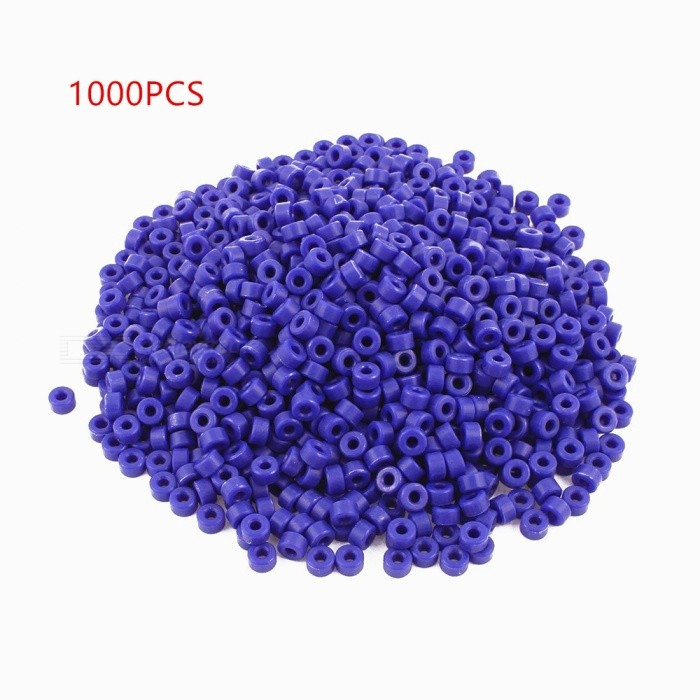 RXDZ 1000pcs 7 x 3 x 4mm Insulated Spacer Washers Standoff PillarsDIY Parts &amp; Components<br>Color-Quantity1000 pieceMaterialPlasticEnglish Manual / SpecNoCertificationNOPacking List1000 x Insulated Spacer Washers<br>