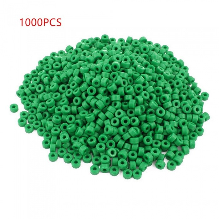 RXDZ 1000pcs Plastic Column Insulated Spacer Washer Standoff Pillars - GreenDIY Parts &amp; Components<br>ColorgreenQuantity1000 pieceMaterialplasticEnglish Manual / SpecNoCertificationNOPacking List1000 x Insulated Spacers<br>