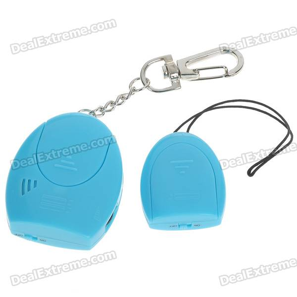 Personal Anti-Lost Alarm Device for Kid/Pet/Purse/Bag/Cell Phone - Blue (1*CR2032/2*CR2032)