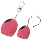 Personal Anti-Lost Alarm Device for Kid/Pet/Purse/Bag/Cell Phone - Pink (1*CR2032/2*CR2032)