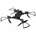 YH-19HW Wi-Fi FPV Foldable Pocket Mini RC Drone Helicopter with Camera, HD 720P Wide-Angle Quadcopter - Black