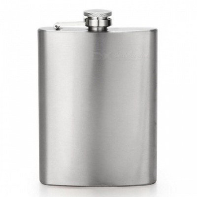 CTSmart AT6629 Outdoor Mountaineering Fishing Stainless Steel Portable Hip Flask - Silver