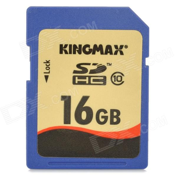 Genuine KINGMAX SDHC Memory Card - 16GB (Class 10)