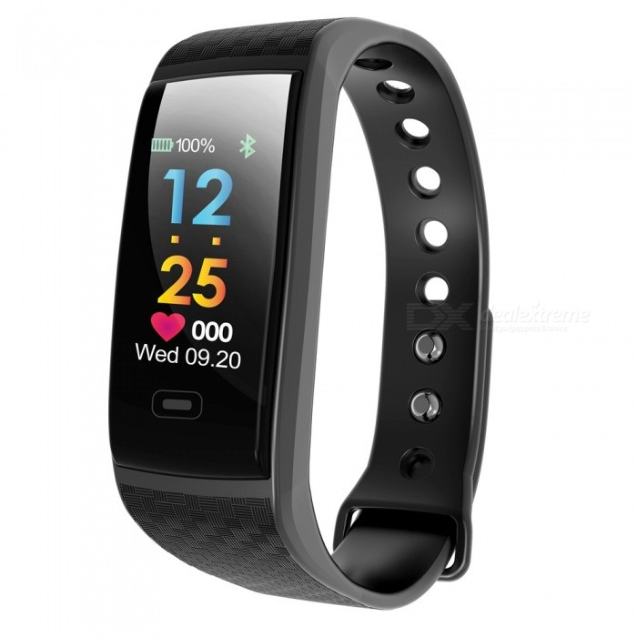 CK17S 0.96 IPS BT4.0 PPG Color Screen Smart Bracelet - BlackSmart Bracelets<br>ColorBlackModelCK17SQuantity1 DX.PCM.Model.AttributeModel.UnitMaterialPlastic + glassWater-proofIP67Bluetooth VersionBluetooth V4.0Touch Screen TypeYesOperating SystemNoCompatible OSAndroid 4.4 and aboveiOS 8.2 and aboveBattery Capacity85 DX.PCM.Model.AttributeModel.UnitBattery TypeLi-polymer batteryStandby Time10 DX.PCM.Model.AttributeModel.UnitPacking List1 x Smart Bracelet1 x User Manual<br>