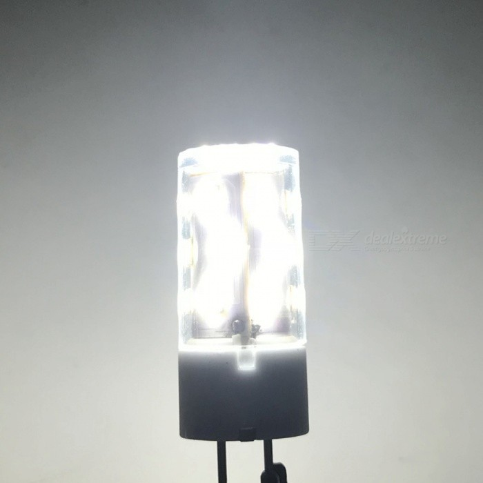 ZHAOYAO GY6.35 6W AC/DC-12V 2835SMD-21LEDs Ceramic LED Light - WhiteOther Connector Bulbs<br>Emitting ColorWhiteMaterialCeramicForm  ColorWhiteQuantity1 DX.PCM.Model.AttributeModel.UnitPower6WRated VoltageOthers,AC/DC 12 DX.PCM.Model.AttributeModel.UnitConnector TypeOthers,GY6.35Chip Type2835Emitter TypeLEDTotal Emitters21Actual Lumens400-550 DX.PCM.Model.AttributeModel.UnitColor Temperature6000KDimmableNoBeam Angle360 DX.PCM.Model.AttributeModel.UnitOther Features5500-7000KPacking List1 x LED Bulb<br>