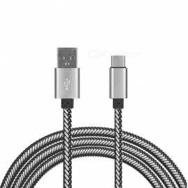 USB Type-C Charging Data Cable for Xiaomi Mi5 / Oneplus 3T / Oneplus 5T / Oneplus 5 - Gold (100CM)