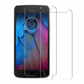 Naxtop Tempered Glass Screen Protector for Moto G5S - Transparent