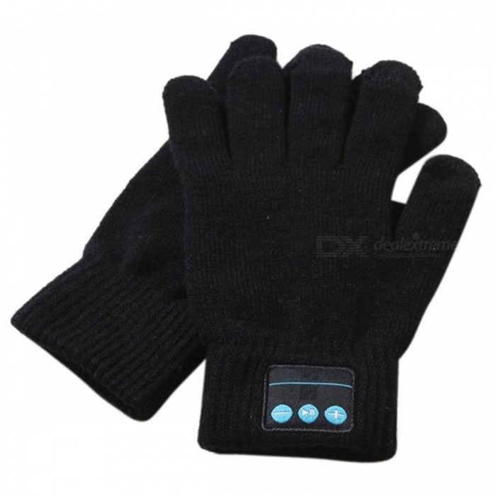ST3 Bluetooth Touch Screen Handsfree Call Gloves - BlackGloves<br>ColorBlackModelST3Quantity1 setShade Of ColorBlackMaterialABSGenderUnisexSuitable forCoupleStyleCasualPalm Girth11 cmMidfinger Length10 cmGlove Length22 cmCertificationCEPacking List1 x Bluetooth gloves1 x Charging Cable1 x Instructions<br>