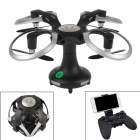 415B 2.4GHz Ball Shape Wi-Fi FPV Foldable Mini RC Drone Helicopter with 2.0MP Camera, RC Quadcopter Remote Control Toy