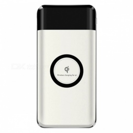 Large Capacity 10000mAh Wireless Charger Power Bank w/ LCD Display for IPHONE, Samsung