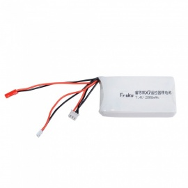 FRSKY TARANIS Q X7 2.4G 7.4V 8C 2000mAh Battery for Remote Controller