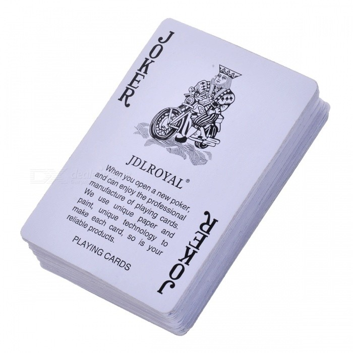Magic Props Poker Playing Card for TV ShowMagic Supplies<br>ColorBlueMaterialPaperQuantity1 DX.PCM.Model.AttributeModel.UnitSuitable Age 3-6 months,6-9 months,9-12 months,13-24 months,8-11 years,12-15 years,Grown upsPacking List43 x Cards<br>